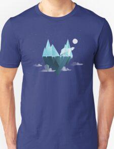 Low Poly Polar Bear Unisex T-Shirt