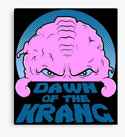 Dawn of the Krang Canvas Print