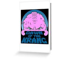 Dawn of the Krang Greeting Card