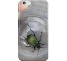 Green Beetle iPhone Case/Skin