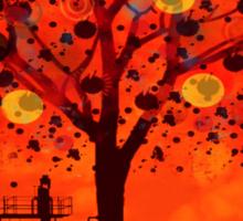 The tree factory Sticker