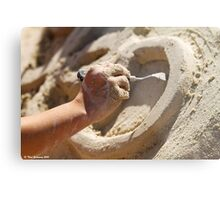 Hand of the sculptor Metal Print