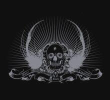 Skull motif SRC by punkrocksurfer