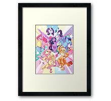My Little Pony print Framed Print