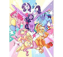 My Little Pony print Photographic Print