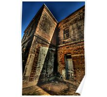 Misery and Shadows - Beechworth Lunatic Asylum - The HDR Experience Poster