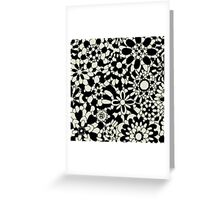 Cute Floral Pattern Item Greeting Card