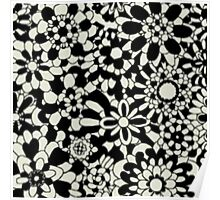 Cute Floral Pattern Item Poster