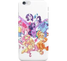 My Little Pony transparent print iPhone Case/Skin