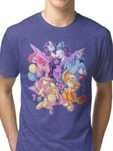 My Little Pony transparent print Tri-blend T-Shirt