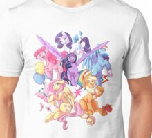 My Little Pony transparent print Unisex T-Shirt