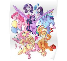 My Little Pony transparent print Poster