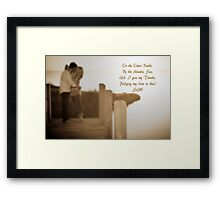 Pledge My Love to Thee Framed Print