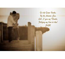 Pledge My Love to Thee Photographic Print