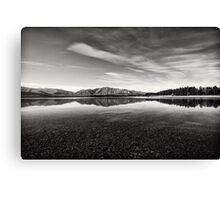 Lake Takepo Canvas Print