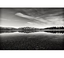 Lake Takepo Photographic Print