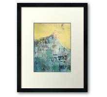 Hillside Facing the Sun Framed Print