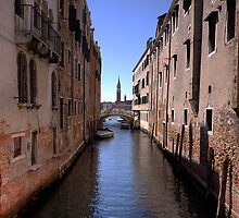 Canel in Venice by David Freeman