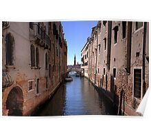 Canel in Venice Poster
