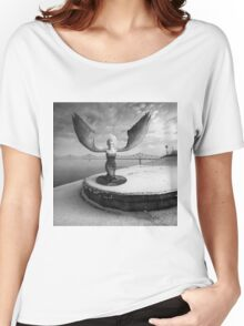 Free Will Women's Relaxed Fit T-Shirt
