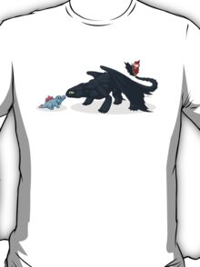 Toothless & Totodile T-Shirt