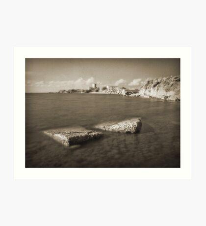 Astura Castle, Italy Art Print
