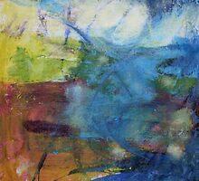 Cloudburst and Foam by John Fish