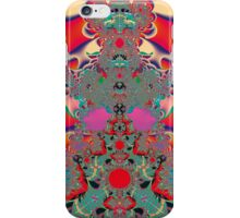 Red Meditation iPhone Case/Skin
