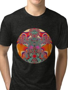 Red Meditation Tri-blend T-Shirt
