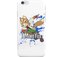 I Main Fox - Super Smash Bros. iPhone Case/Skin