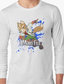 I Main Fox - Super Smash Bros. Long Sleeve T-Shirt