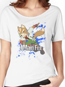 I Main Fox - Super Smash Bros. Women's Relaxed Fit T-Shirt