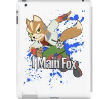 I Main Fox - Super Smash Bros. iPad Case/Skin