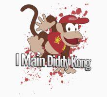 I Main Diddy Kong - Super Smash Bros. by PrincessCatanna