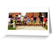 An American Fort ~ Part Five Greeting Card