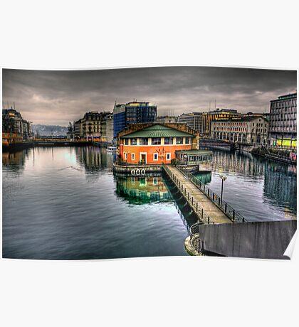 Geneva Switzerland Poster