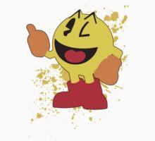 Pacman - Super Smash Bros by PrincessCatanna