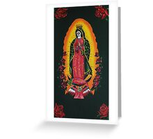 Madonna de Guadalupe Greeting Card