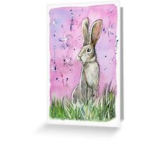 Willow the hare Greeting Card