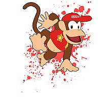 Diddy Kong- Super Smash Bros Photographic Print