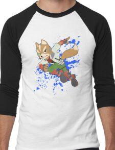 Fox - Super Smash Bros Men's Baseball ¾ T-Shirt