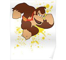 Donkey Kong (DK) - Super Smash Bros Poster
