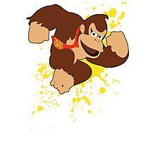 Donkey Kong (DK) - Super Smash Bros Photographic Print
