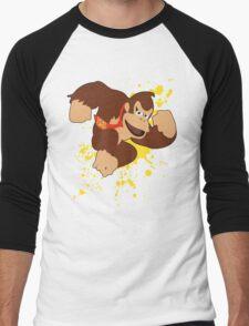 Donkey Kong (DK) - Super Smash Bros Men's Baseball ¾ T-Shirt
