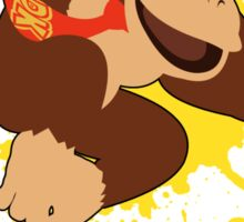 Donkey Kong (DK) - Super Smash Bros Sticker