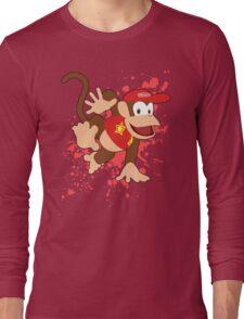 Diddy Kong- Super Smash Bros Long Sleeve T-Shirt
