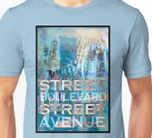 Street Scene Signs Unisex T-Shirt