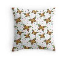 The Fancy Butterfly Throw Pillow