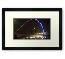 Large View Newcastle Upon Tyne Framed Print