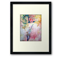 Dancing with Time Framed Print